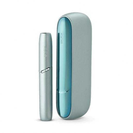 IQOS 3 DUO Lucid Teal Designed in Switzerland