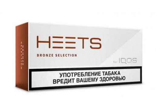 IQOS Heets Bronze from Parliament Russia