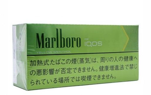 IQOS Heets Marlboro Yellow Menthol Japan
